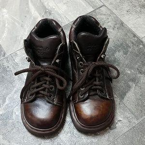 Vintage Dr Martens 8542 Platform Lug Ankle Boots 8